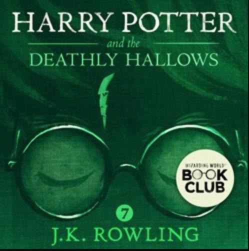 Harry Potter Ljudbok - Dödsrelikerna
