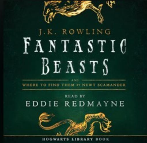 Omslaget på boken fantastiska vidunder och vart man hittar dem